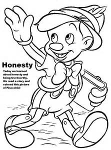 222x300 Honesty Coloring Pages For Kids Sketch Template Primary