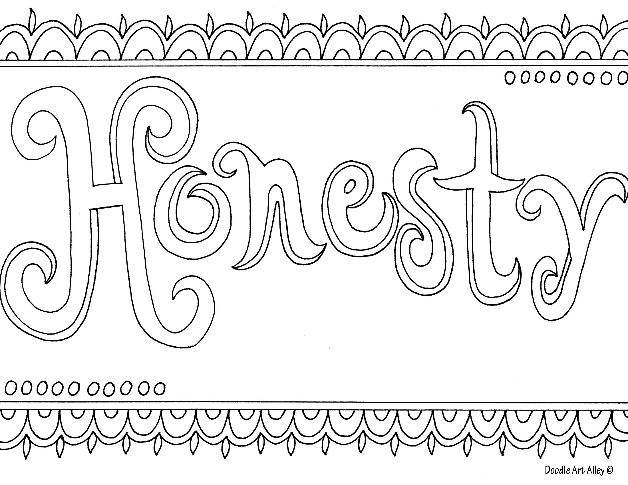 2200x1700 Honesty Coloring Page School Counseling Sunday School