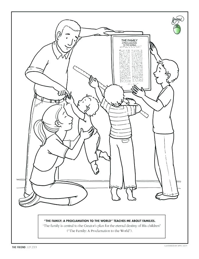 694x902 Honesty Coloring Page