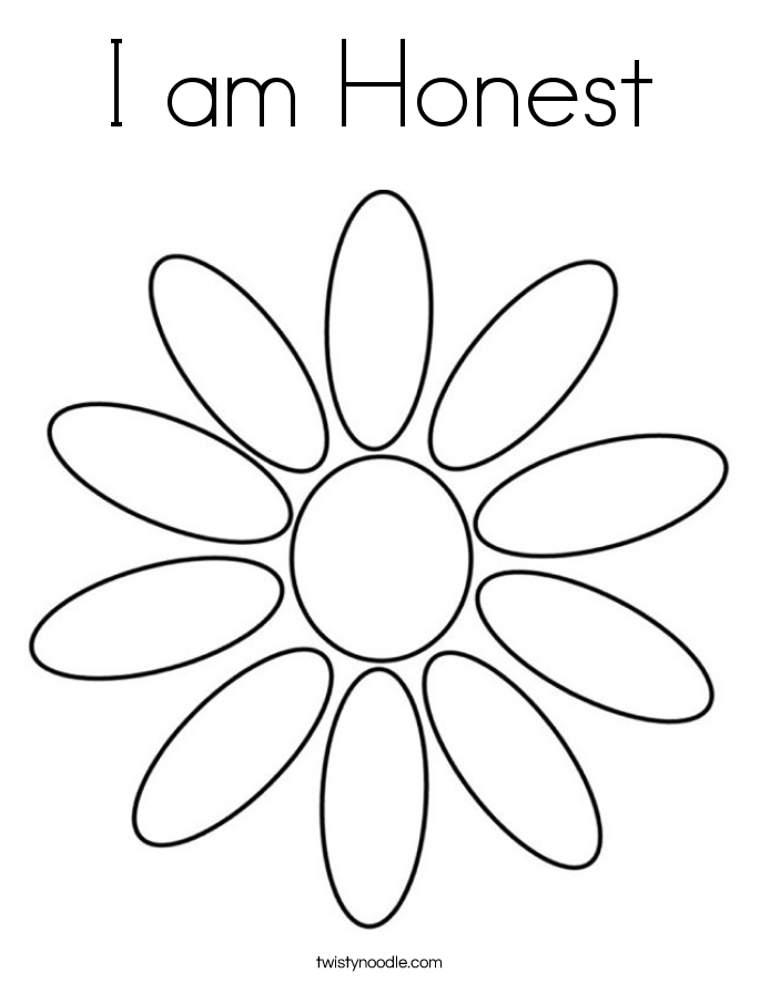 685x886 Honesty Coloring Pages Coloring Page For Kids