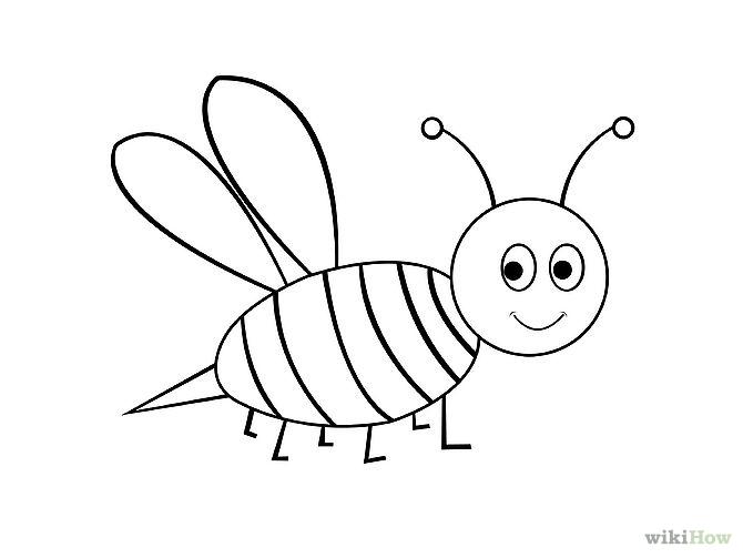 670x503 Draw A Cartoon Bee Cartoon Bee, Bees And Cartoon
