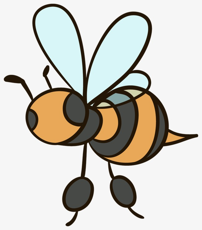 650x741 Bee, Lovely, Simple Png Image For Free Download