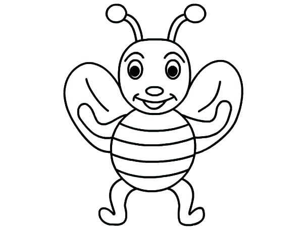 600x462 Bee Coloring Pages Bumble Bee Coloring Pages Print Media