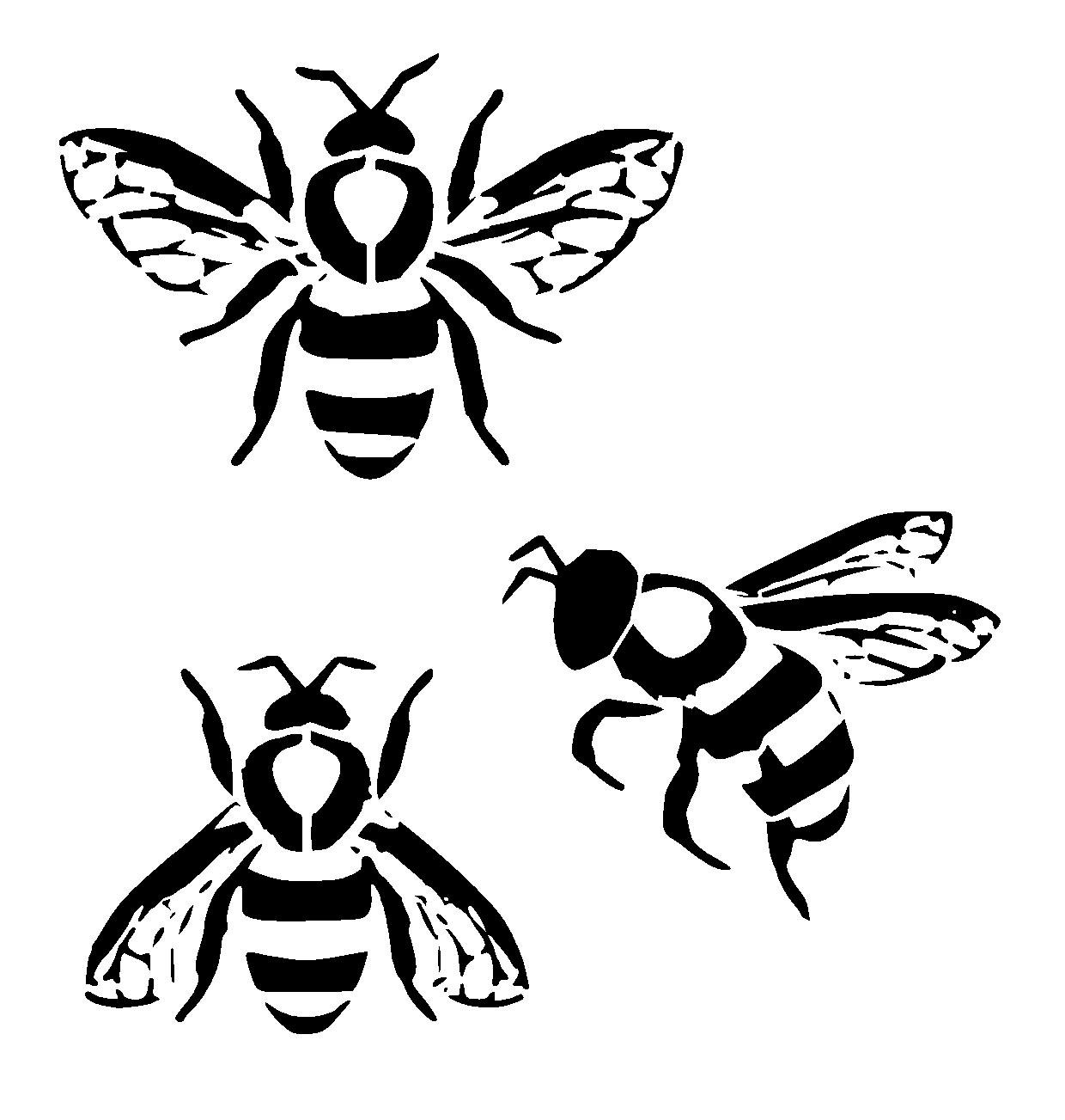 1240x1303 Simple Bumble Bee Drawing Bee Fabric Etsy