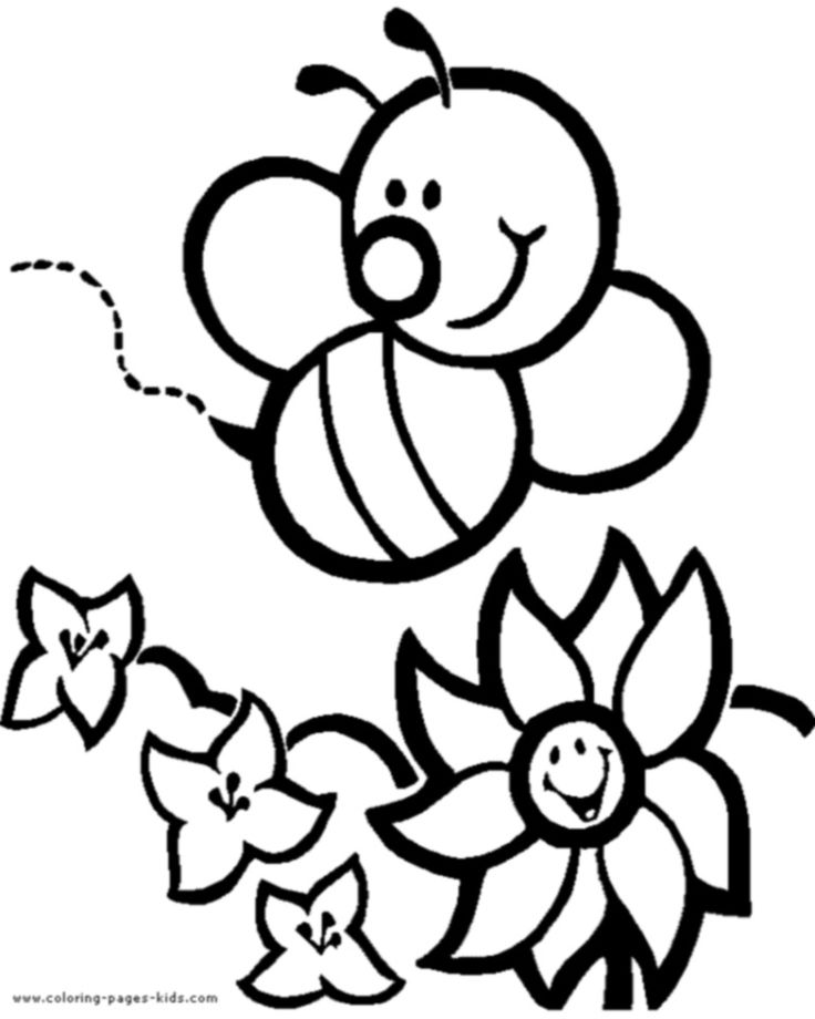 736x920 Coloring Pages Attractive Draw A Bee Superb Honey