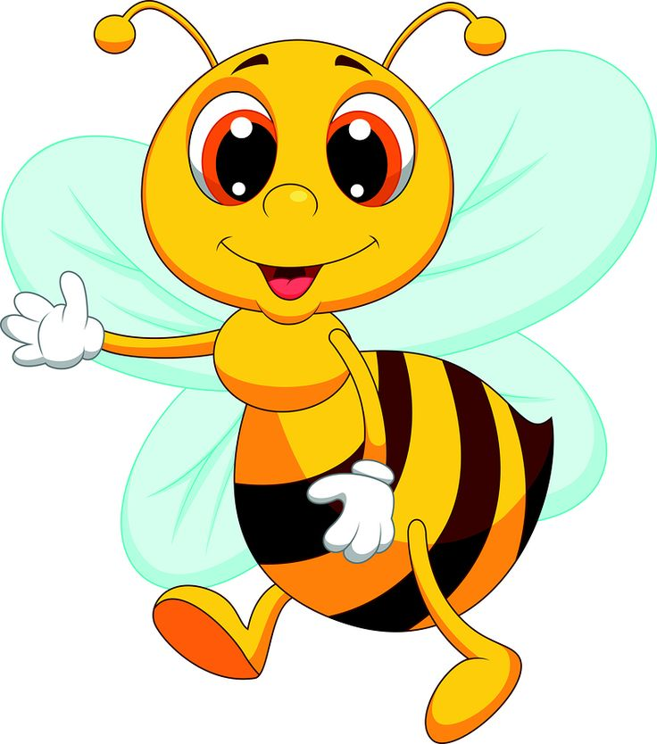 Honey Bee Drawing Clip Art At Getdrawings Com