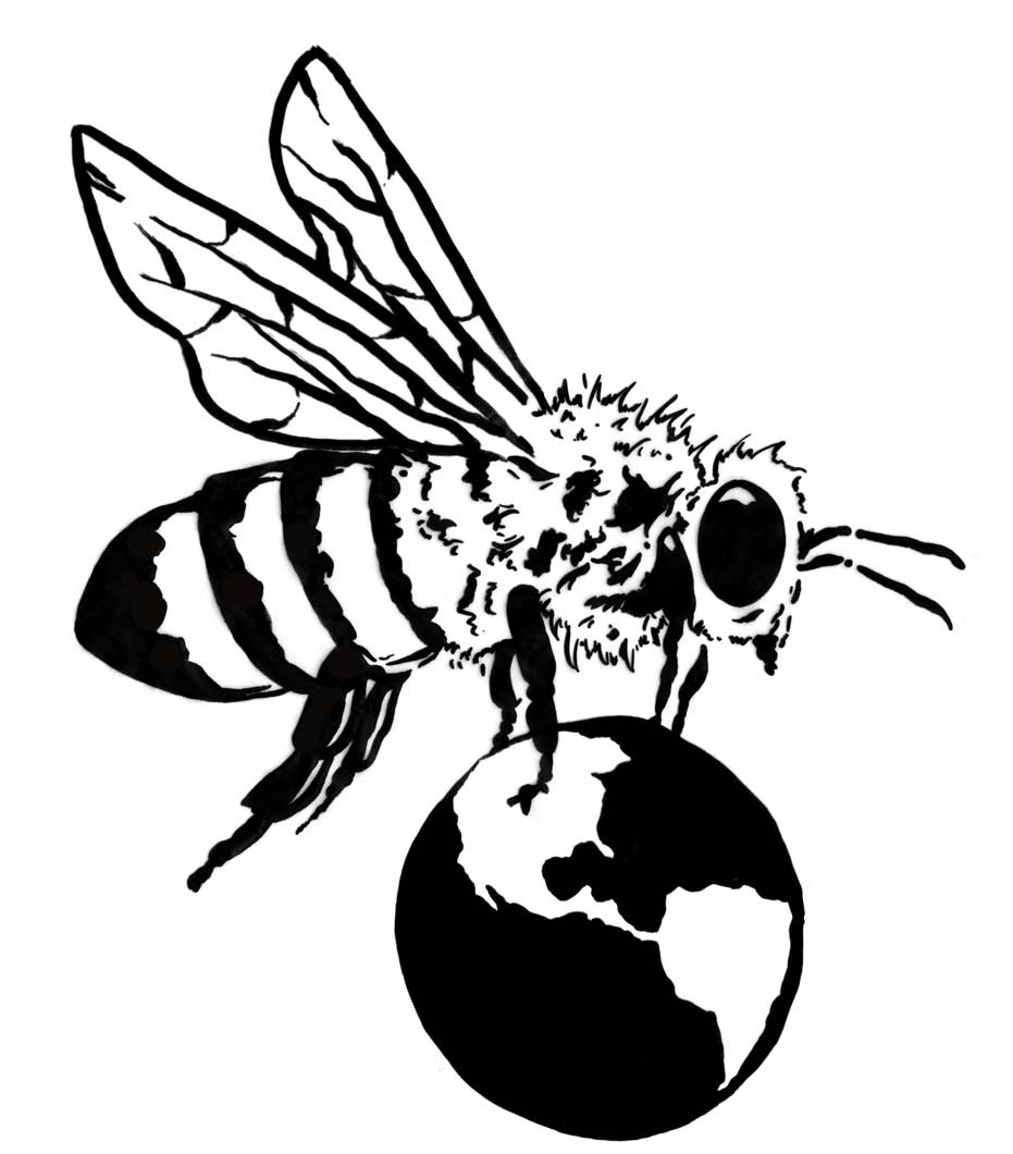 931x1060 How Draw A Bee Step By Step Clip Art Library For How