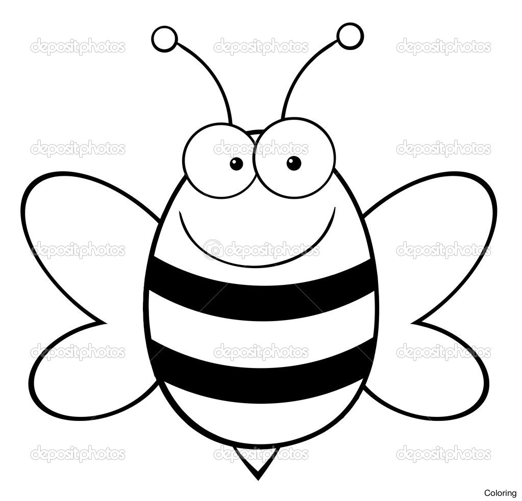 1023x983 Kids Printable Throughout Honey Bee Coloring Pages 53 Stunning