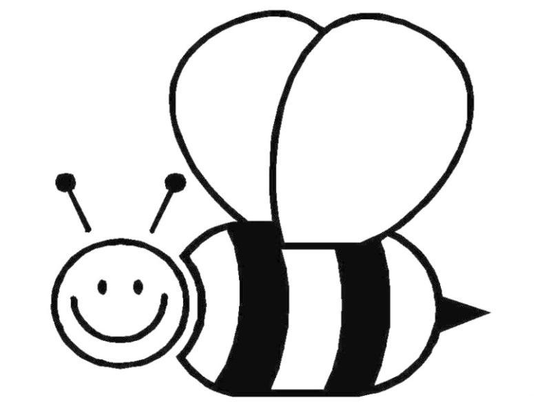 honey bee drawing clip art at getdrawings com free for personal rh getdrawings com black and white bumble bee clip art black and white bee hive clip art