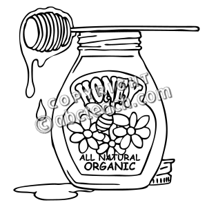 Honey Drawing at GetDrawings.com | Free for personal use Honey ...