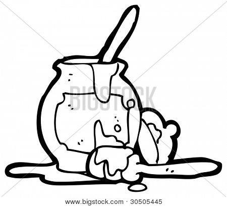 450x410 Honey Pot Cartoon Image Amp Photo Bigstock