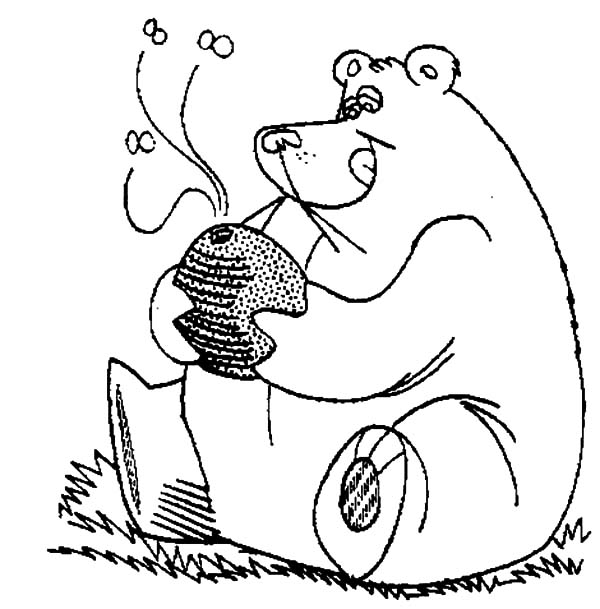 600x609 Honey Bear Hug Honey Pot Coloring Pages Honey Bear Hug Honey Pot