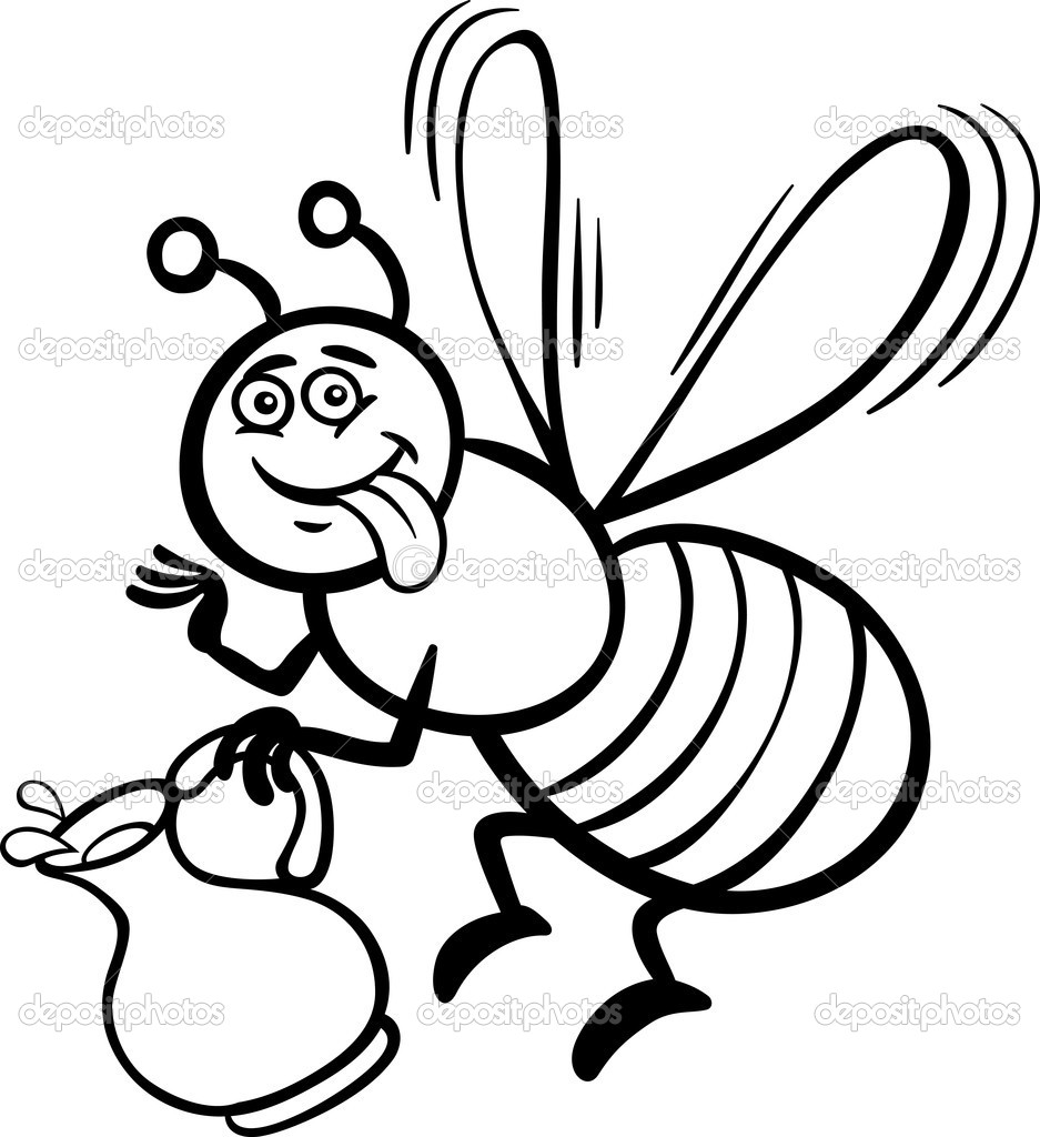 937x1024 Emejing Honey Bee Coloring Pages Kids Photos