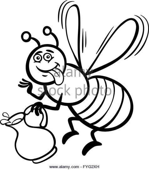 476x540 Honey Bee Black And White Stock Photos Amp Images