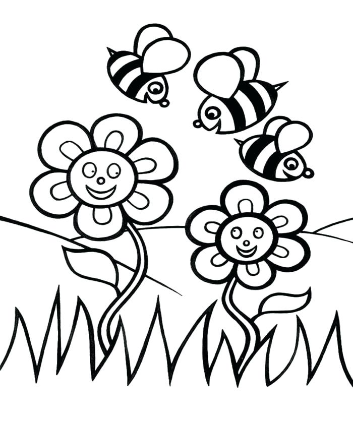 700x835 Honey Bee Coloring Page Cortefocal.site