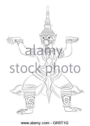300x420 Buddha Statue, Line Drawing Stock Vector Art Amp Illustration