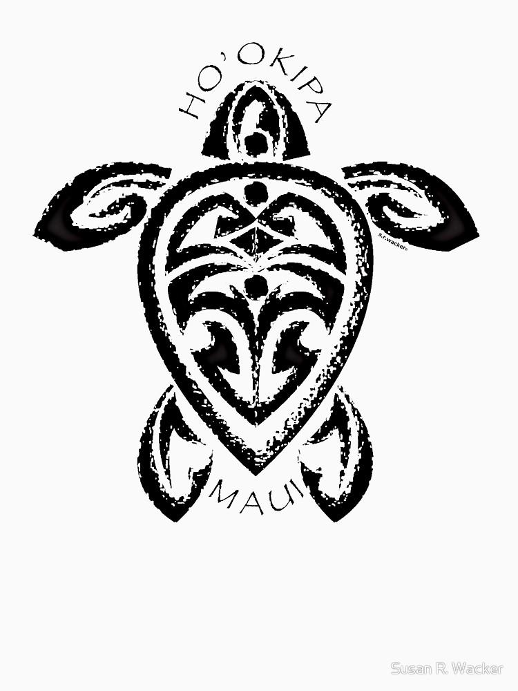 750x1000 Tribal Honu Ho'Okipa, Maui Unisex T Shirt By Srwdesign Redbubble
