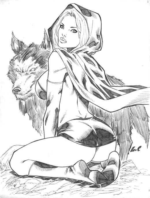 519x685 Little Red Riding Hood By Lcfreitas