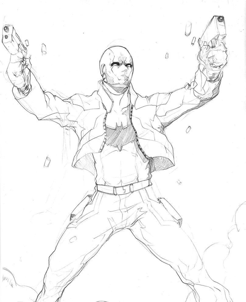 808x989 Red Hood Sketch By Animixter