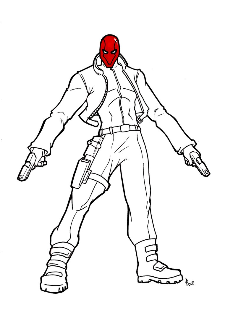 761x1049 The Red Hood By Justinbysma