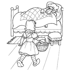230x230 Top 10 Free Printable Little Red Riding Hood Coloring Pages Online