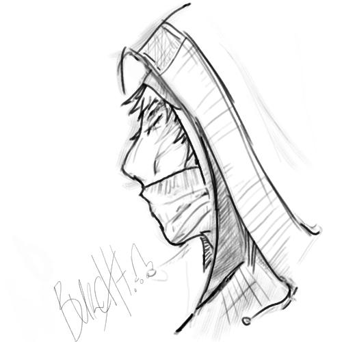 500x500 Hooded Man By Burch1102