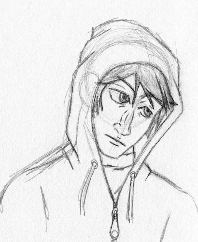 686x839 Longnosed Hooded Guy By Tesunie