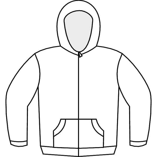 660x660 Sweatshirt Coloring Pages