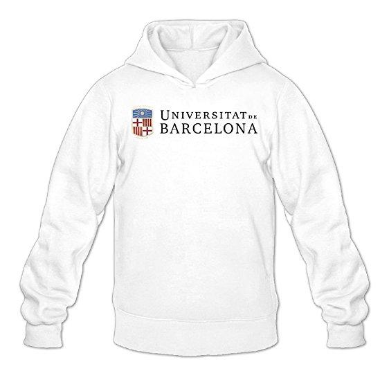 562x562 Czhymy Men's Universitat De Barcelona Hoodies