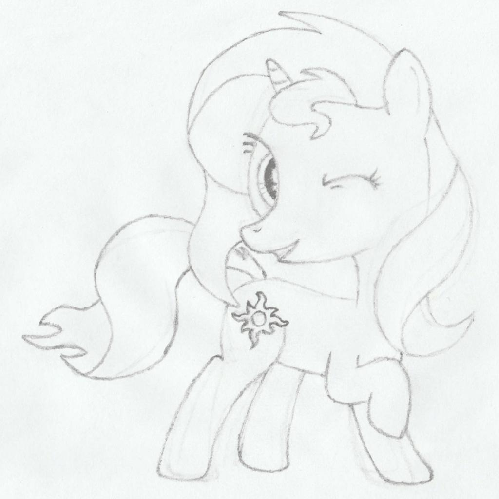 Hoof Drawing