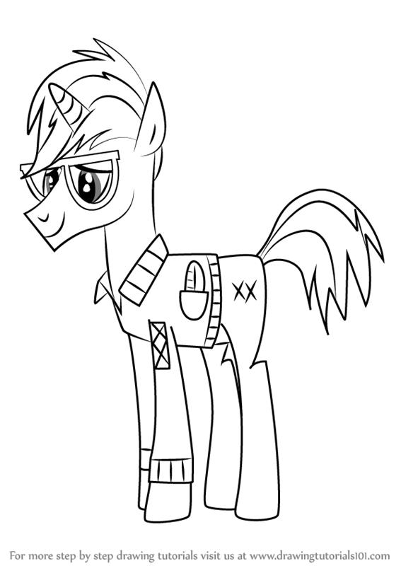 567x800 Learn How To Draw Trenderhoof From My Little Pony