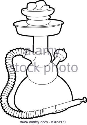 300x432 Hookah Black Symbol Icon Logo Set Stock Vector Art Amp Illustration