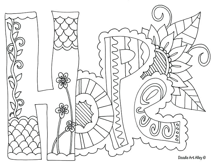 736x568wesome Printable Quote Coloring Pages Fee Of Hope