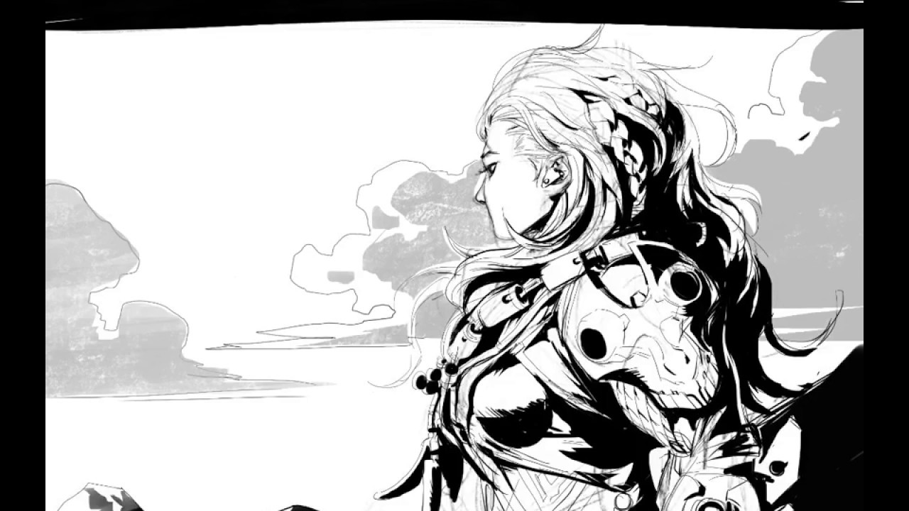 1280x720 Horizon Zero Dawn Alloy Sketch