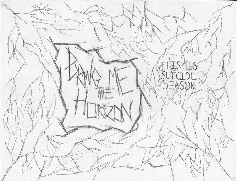 802x612 Bring Me The Horizon Sketch By Harmoniousdesigns