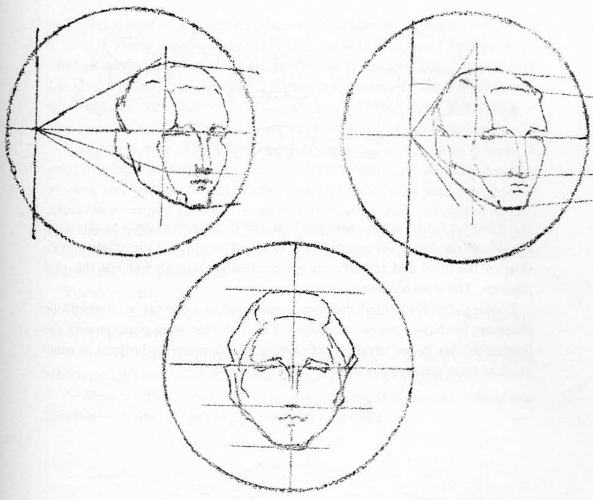 1200x1012 How To Draw The Head Perspective Drawing Human Head