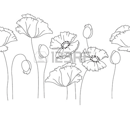 450x394 Draw Flower Pattern Horizontal Stock Photos. Royalty Free Business