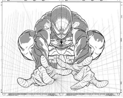 430x342 Avenging Spider Man 1 By Joe Quesada. Joe Makes Use Of A Vanishing
