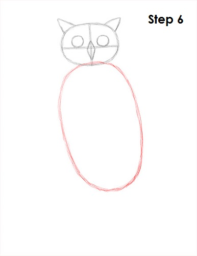 386x500 How To Draw An Owl (Great Horned)