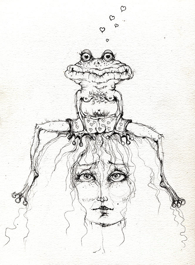 664x900 Toad Drawings Fine Art America