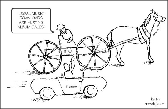 560x365 Riaa Horse And Buggy Comic