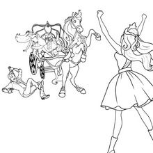 220x220 Tori's Horse Drawn Carriage Coloring Pages