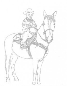 260x334 Western Coloring Pages