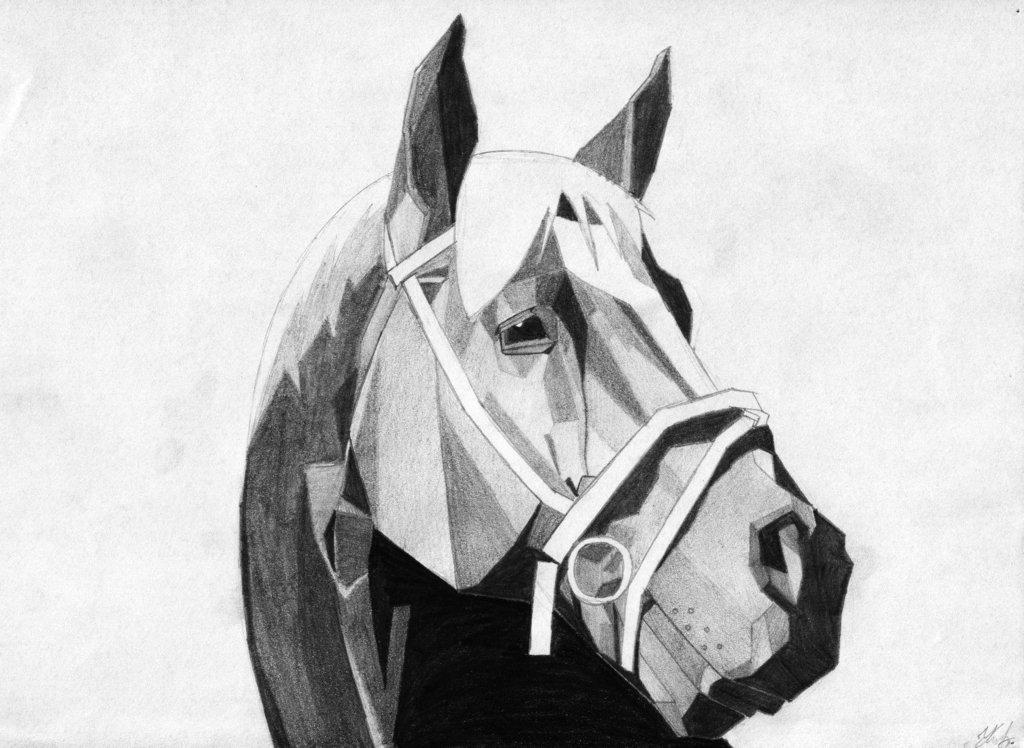 1024x748 Cubist Horse By Sailorripley