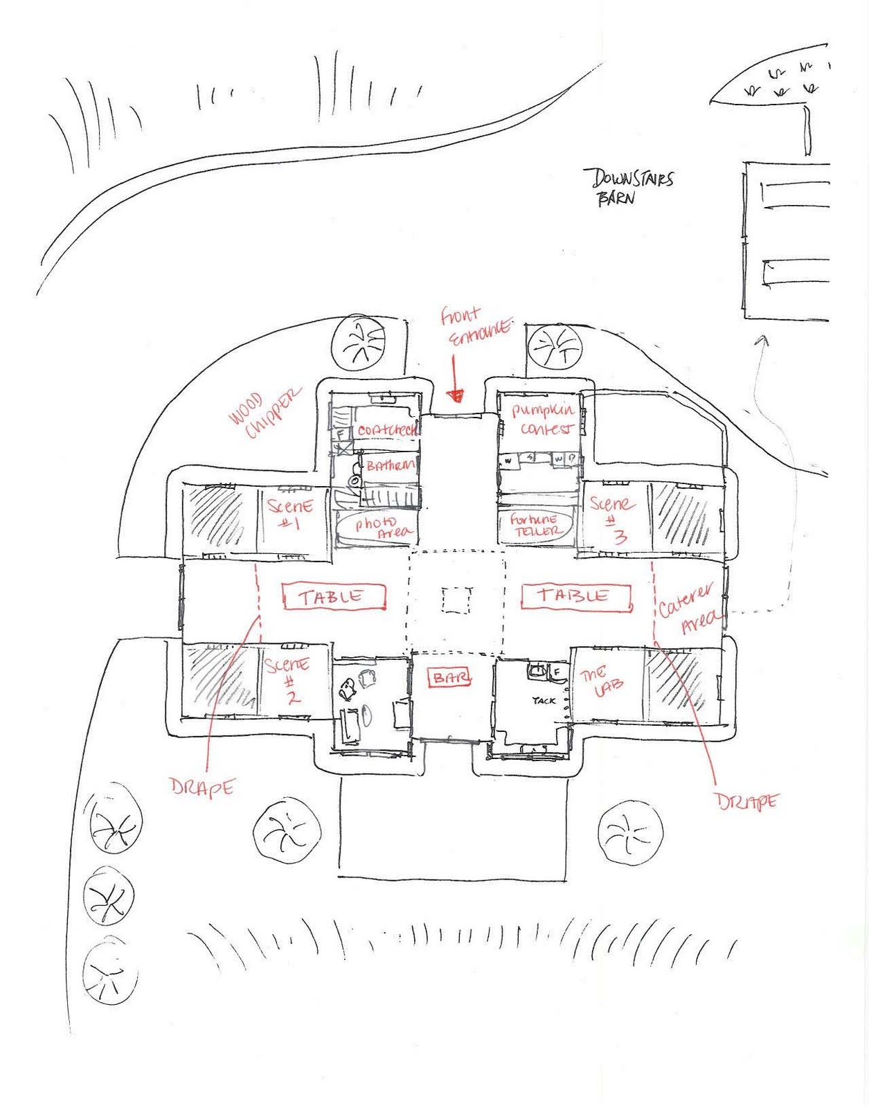 1255x1600 Horse Barn Design Layout 8x10x12x14x16x18x20x22x24 Josep