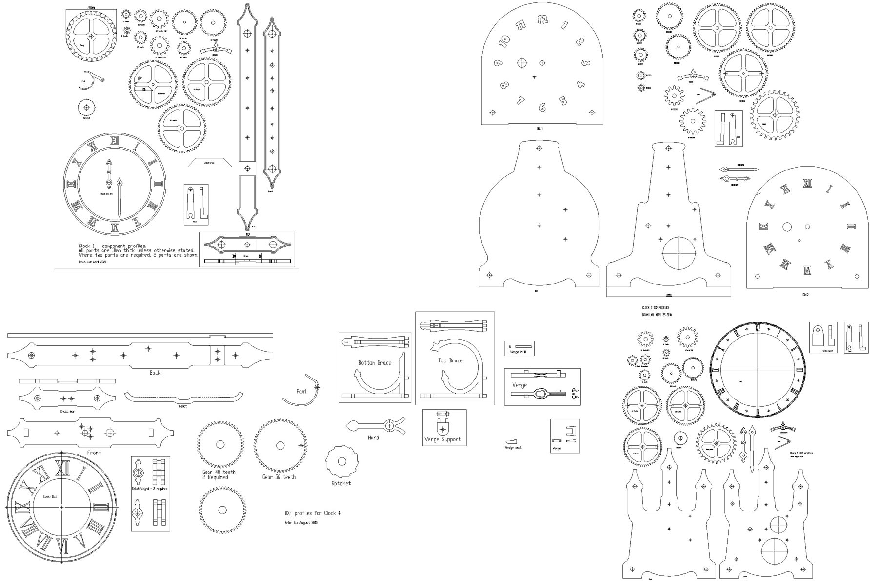 Horse bench plans drawing at getdrawings free for personal use 1800x1205 how to make a wooden gear clock wooden clock plans wooden gear malvernweather Gallery