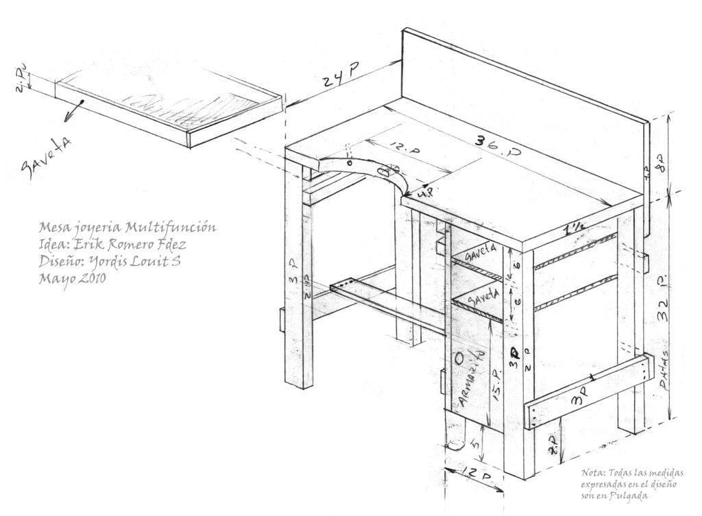 1024x753 Jewelry Work Bench Plans You Can Do Like I Did And Build Your Own