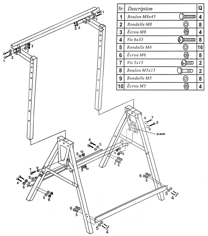 1321x1500 Popamazing Telescopic Builder Trestle Carpenter Trestles Saw Horse