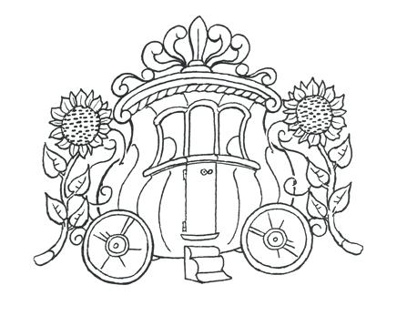 447x347 Horse And Carriage Coloring Pages Drawn Pumpkin Pumpkin 4 Horse