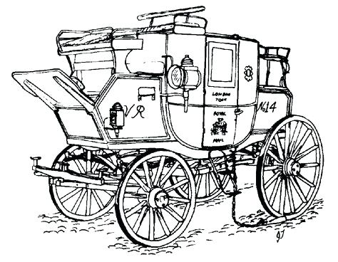 474x368 Carriage Coloring Pages Codetracer.co